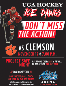 Ice Dawgs Poster